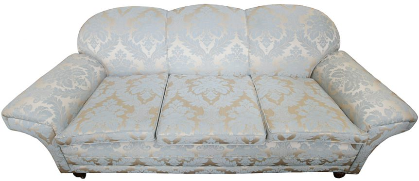 reupholstered lounge suite