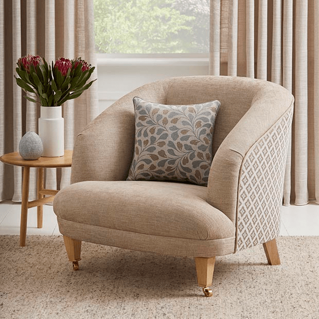 Tub Chair Re-upholstery Warwick Fabrics