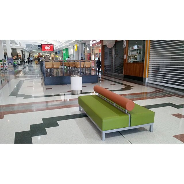 Bench Seating at Shopping Centre