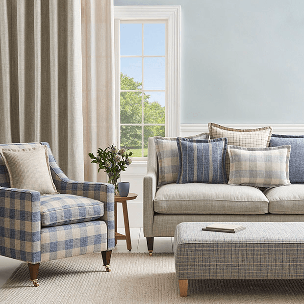Coastal style in Arlington by Warwick Fabrics.