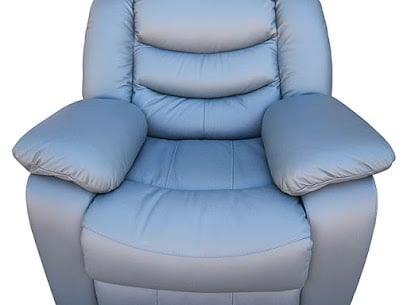 Gorgeous Leather Recliner Reupholstered